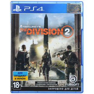 Диск PS4 Clancy's The Division 2 (Русская версия)