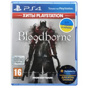 Диск PS4 Bloodborne: Порождение крови Game of the Year Edition