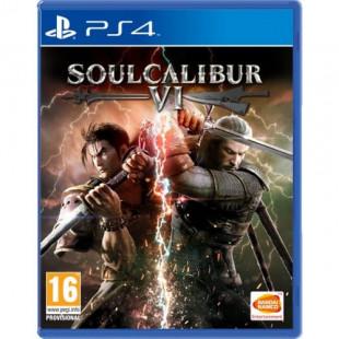 Диск PS4 Soulcalibur 6 (Русская версия)