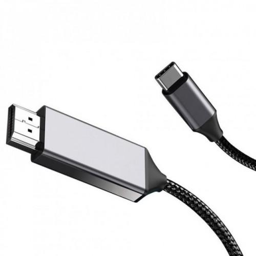 Кабель WIWU X9 Type-C to HDMI Black