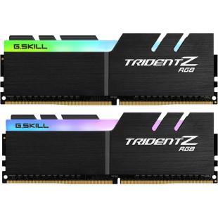 Оперативная память DDR4 16G KIT(2x8G) 3600MHz G.SKILL TridentZ RGB Black 1.35V CL18 (box)