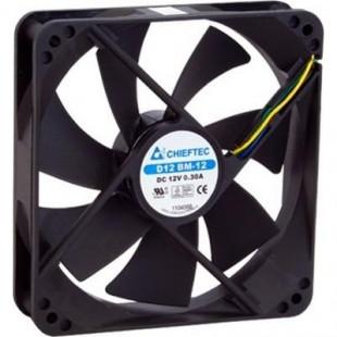 Вентилятор Chieftec Thermal Killer AF-1225PWM, 120мм, 1650 об/мин, 4pin PWM/Molex, 31dBa