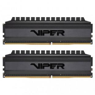 Оперативная память DDR4 2x8GB/3000 Patriot Viper 4 Blackout (PVB416G300C6K)