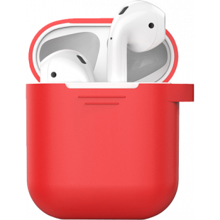 Чехол AhaStyle Silicone Case for AirPods - Red (X001DC77ZB)