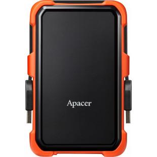 Внешний жесткий диск HDD 2.5 1TB Apacer USB 3.1 AC630 защита IP55 Black/Orange