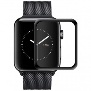 Полимерная пленка Full Glue Apple Watch 40 mm Black