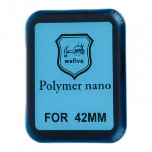Полимерная пленка Full Glue Apple Watch 42 mm Black