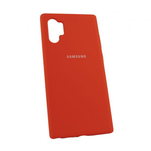 Силикон Soft Touch Samsung Note10 Plus N975 (Red)