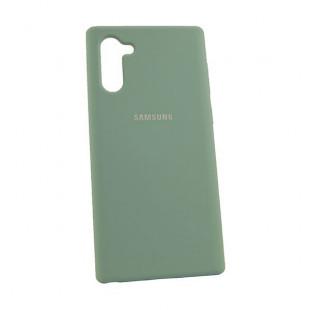 Силикон Soft Touch Samsung Note10 N970 (Ice Sea Blue)