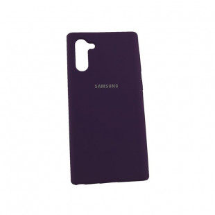 Силикон Soft Touch Samsung Note10 N970 (Purple)