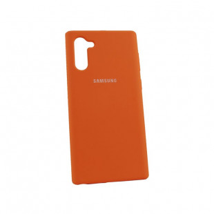 Силикон Soft Touch Samsung Note10 N970 (Papaya)