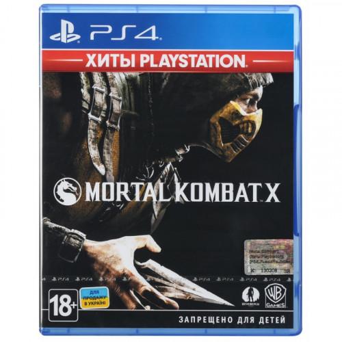 Диск PS4 Mortal Combat X
