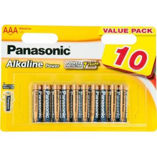 Батарейка Panasonic ALKALINE POWER AAA BLI 10 (LR03REB/10BW)