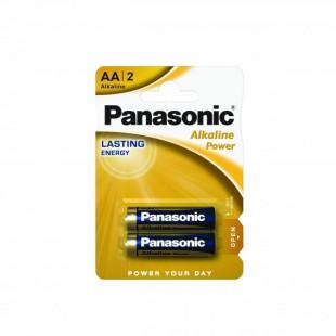 Батарейка Panasonic ALKALINE POWER AA BLI 2 (LR6REB/2BP)