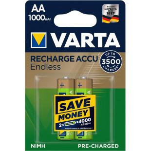 Аккумулятор VARTA RECHARGEABLE ACCU ENDLESS  AA 1000mAh BLI 2 NI-MH (56666101402)