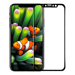 Защитное стекло 5D IPhone 12/12 Pro (Black)