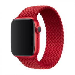 Ремешок для Apple Watch Braided Solo Loop 42/44mm (M) Red