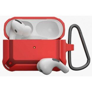 Противоударный чехол AmazingThing Anti-Bacterial Protection Outre Drop Proof Case For AirPods Pro Galaxy Red