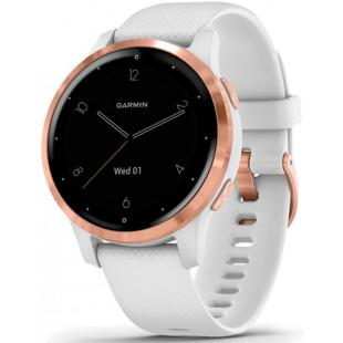 Смарт-часы Garmin vivoactive 4S White/Rose Gold (010-02172-23)