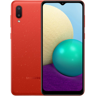 Samsung A02 2021 A022G 2/32GB Red (SM-A022GZRBSEK) UA