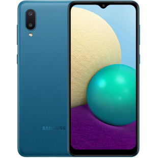 Samsung A02 2021 A022G 2/32GB Blue (SM-A022GZBBSEK) UA