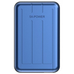 Power Bank Voor IPhone Magsafe Charger Magnetische 10000 mAh Blue