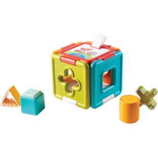 Развивающая игрушка-сортер Tiny Love Куб (1504300030)
