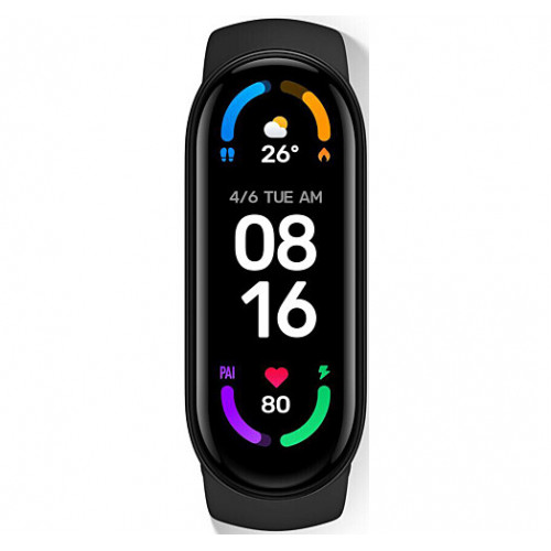 Фитнес-браслет Xiaomi Mi Smart Band 6 Black CN (XMSH15HM / BHR4955CN)