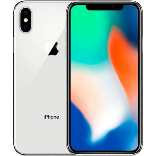 Apple iPhone X 256Gb Silver (Used)