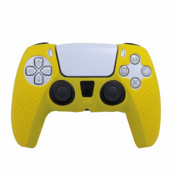 Чехол для Sony PS5 Dualsense (Yellow)