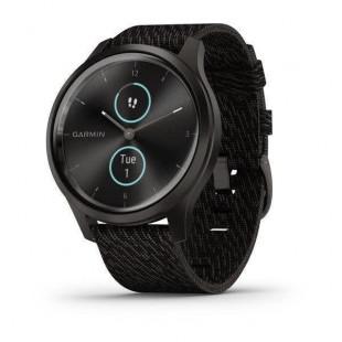 Смарт-часы Garmin vivomove Style Gunmetal-Dark Gray Fabric (010-02240-23)