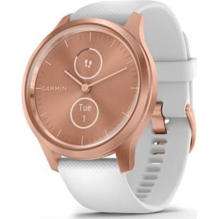 Смарт-часы Garmin vivomove Style Rose Gold-White Silicone (010-02240-20)