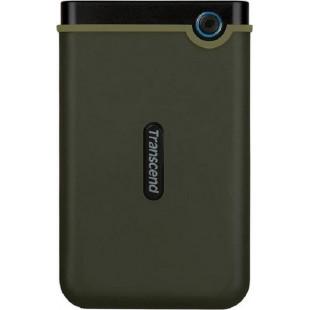 Внешний жесткий диск HDD 2.5 1TB Transcend StoreJet 25M3 Military Green Slim (TS1TSJ25M3G)