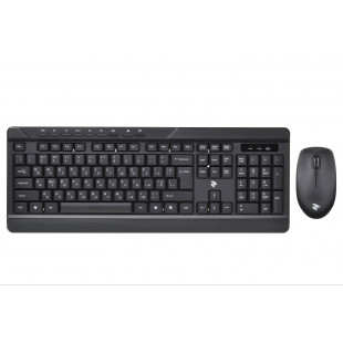 Беспроводной комплект (клавиатура, мышь) 2E MK410 (2E-MK410MWB) Black
