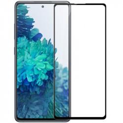 Защитное стекло 5D Samsung Galaxy S20 FE Black