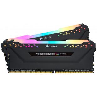 Оперативная память  DDR4 32GB (2x16GB) 3600 Corsair Vengeance RGB Pro C18-22-22-42 набор из 2-х модулей