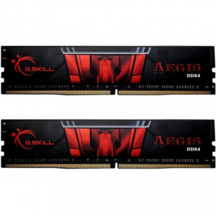 Оперативная память DDR4 16G KIT(2x8G) 2666MHz G.SKILL AEGIS CL19 (F4-2666C19D-16GIS)