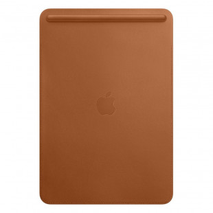 Кожаный чехол Apple Leather Sleeve Saddle Brown для iPad Air 3/Pro 10.5 (MPU12)