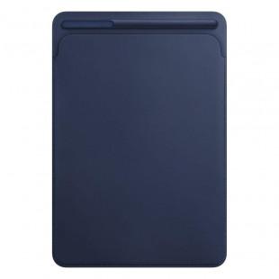 Кожаный чехол Apple Leather Sleeve Midnight Blue для iPad Air 3 (2019)/ Pro 10.5 (MPU22)