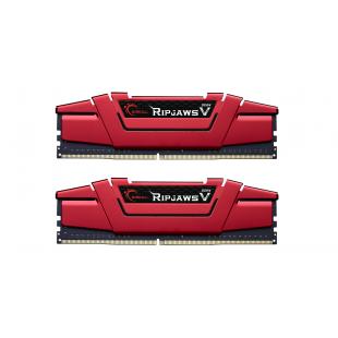 Оперативная память DDR4 16G KIT(2x8G) 3000MHz G.SKILL RipjawsV RED 1.35V CL15 (F4-3000C16D-16GVRB)