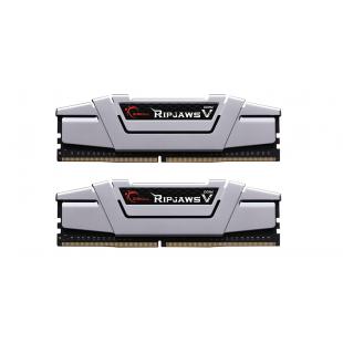 Оперативная память DDR4 16G KIT(2x8G) 3200MHz G.SKILL RipjawsV Silver 1.35V CL16 (F4-3200C16D-16GVGB)