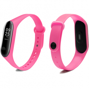 Ремешок Xiaomi Mi Band 3/4  Colors ( Розовый)
