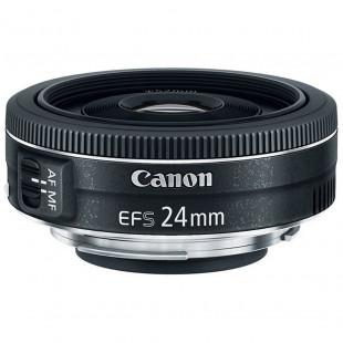 Объектив Canon EF-S 24mm f/2.8 STM (9522B005) UA