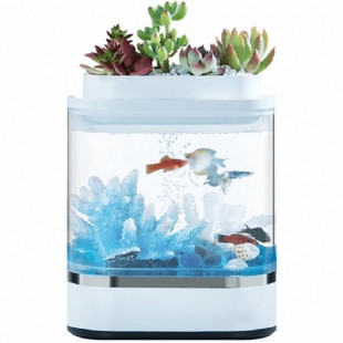 Аквариум Xiaomi Eco Mini fish tank White 203*102*254 HF-JHYG005