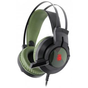 Игровая гарнитура A4Tech Bloody J437 Army Green