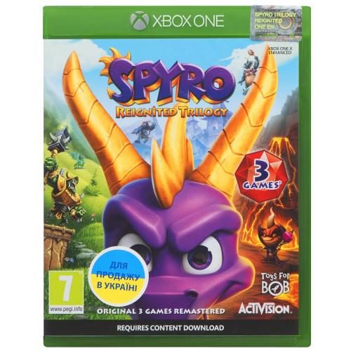 Игра Xbox One Spyro Reignited Trilogy