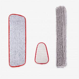 Комплект для уборки Xiaomi Yijie Household Cleaning Kit Replacement TZ-01 Red Gray
