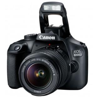 Фотоаппарат Canon EOS 4000D + объектив 18-55 DC III (3011C004) UA