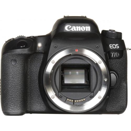Фотоаппарат Canon EOS 77D Body EU