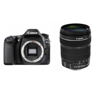 Canon EOS 80D kit (18-135mm) IS STM